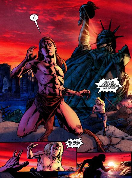 Je suis Kamandi! (Comment ça je sers à rien?!!!) © DC Comics