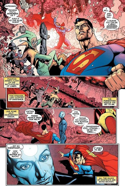 Si le lecteur prend un doliprane, il peut y arriver… © DC Comics