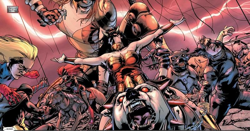 Des super-héros qui deviennent «dark». Mais pour combien de temps? © DC Comics