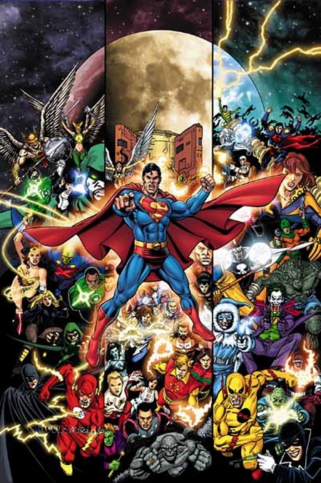 Faire encore plus fort que les anciennes crises! © DC Comics