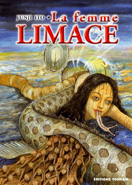 Retour dans l'univers charmant de l'auteur Copyright La femme limace : Namekuji no Shōjo © 1991 Junji ITO