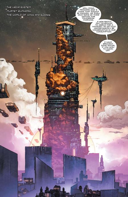 Des décors qui en imposent  (c) DC Comics