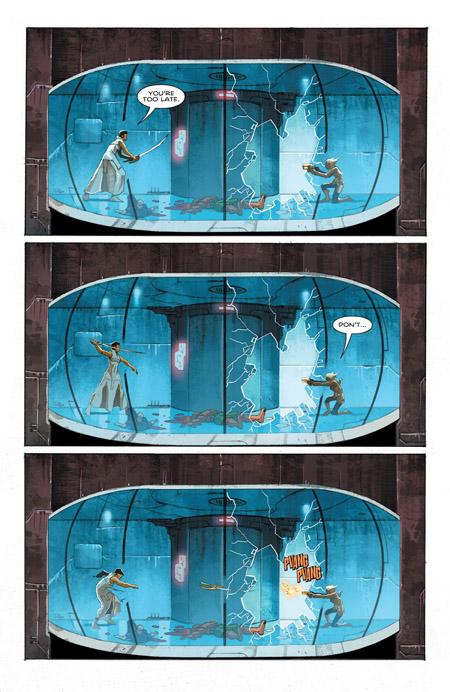 Kalista versus Scrapps (c) DC Comics