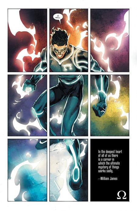 Kyle Rayner dans tous ses «zêtas»  (c) DC Comics