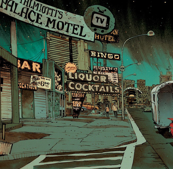 Un Vegas qui sonne authentique, entre bling-bling et cheap ©Image Comics / Delcourt