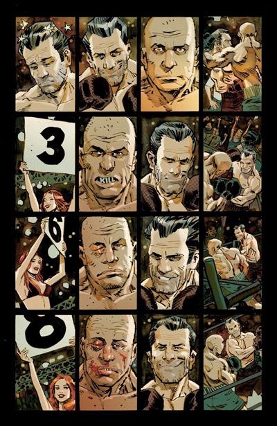 De la boxe en cases. ©Image Comics / Delcourt