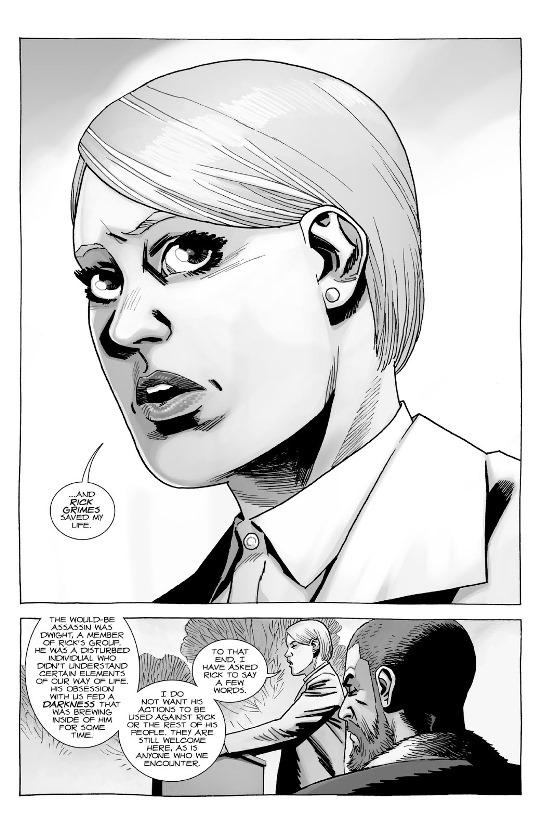 Rick Grimes m'a sauvé la vie.  © Image Comics