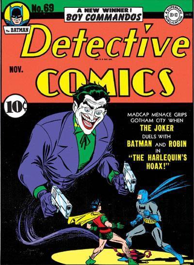 Joker: On reste au départ dans le canon Batmanien: un gangster un peu haut en couleur ©DC Comics