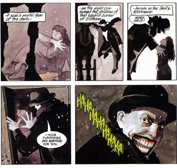 Joker: Petit clin d'œil à M le Maudit, histoire de revenir aux bases.