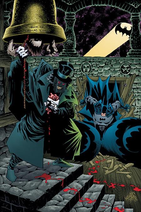 Et sonnent les cloches de Minuit, à Gotham! © DC Comics