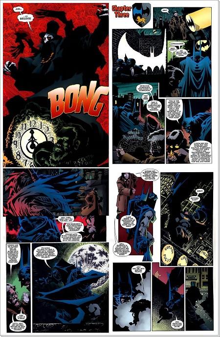 Un dessinateur qui fait son travail! © DC Comics