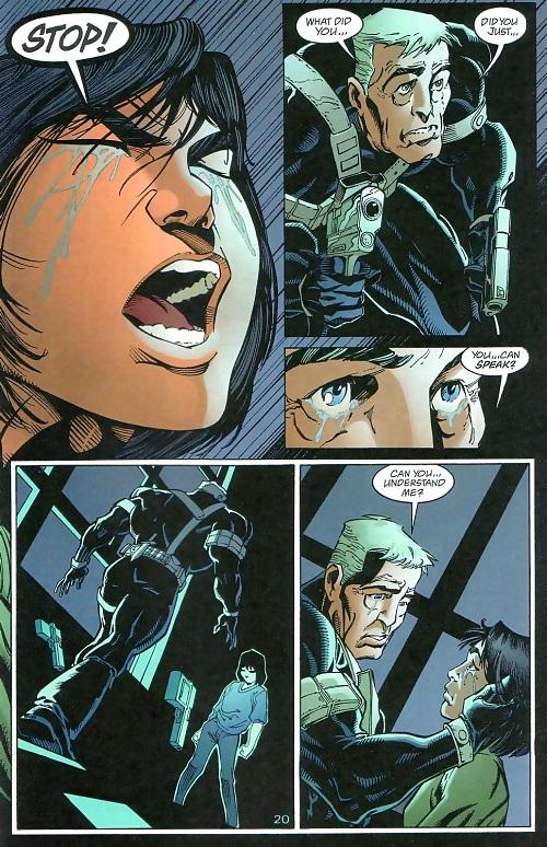 Mon père, ce tueur... © 2001-Damion Scott-DC COMICS