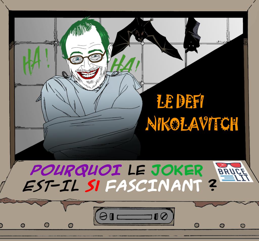 Le Joker est comme le Major Tom, il prend des trucs et l'avoue à demi-mots.