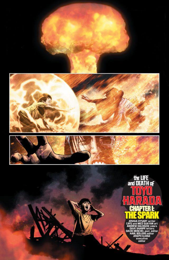 Le vilain le plus fascinant depuis Magneto : Toyo Harada, une victime d'Hiroshima.  ©Valiant Comics