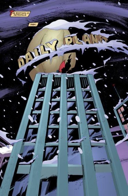 Une intro qui ne laisse pas froid ©2001-DC comics