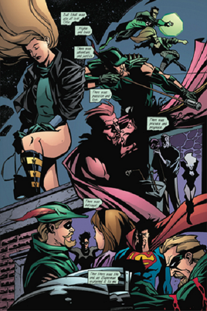 Ga_03 Le résumé d'une vie entre grandeur et décadence. ©2001-DC Comics
