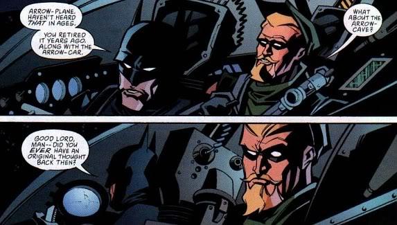 Tout le mode rigole à la Bat-vanne... ©2001-DC comics