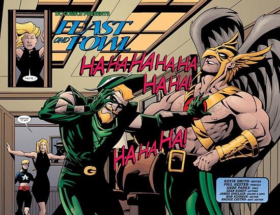 les conflits politiques chez Kevin Smith, c'est de la rigolade. ©2002-DC Comics