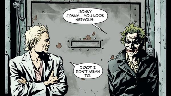 Meat Jonny Frost... ©DC Comics
