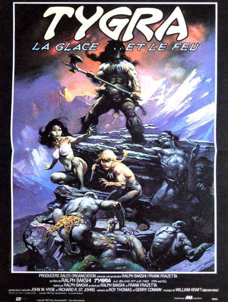L'affiche originale, telle qu'on la voyait dans les vidéoclubs. © Filmedia