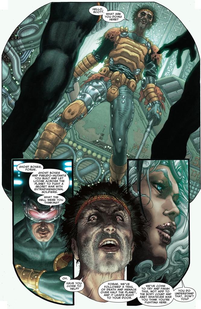 Répétez après moi : Forge is an asshole ! Et les X-Men aussi !  ©Marvel Comics