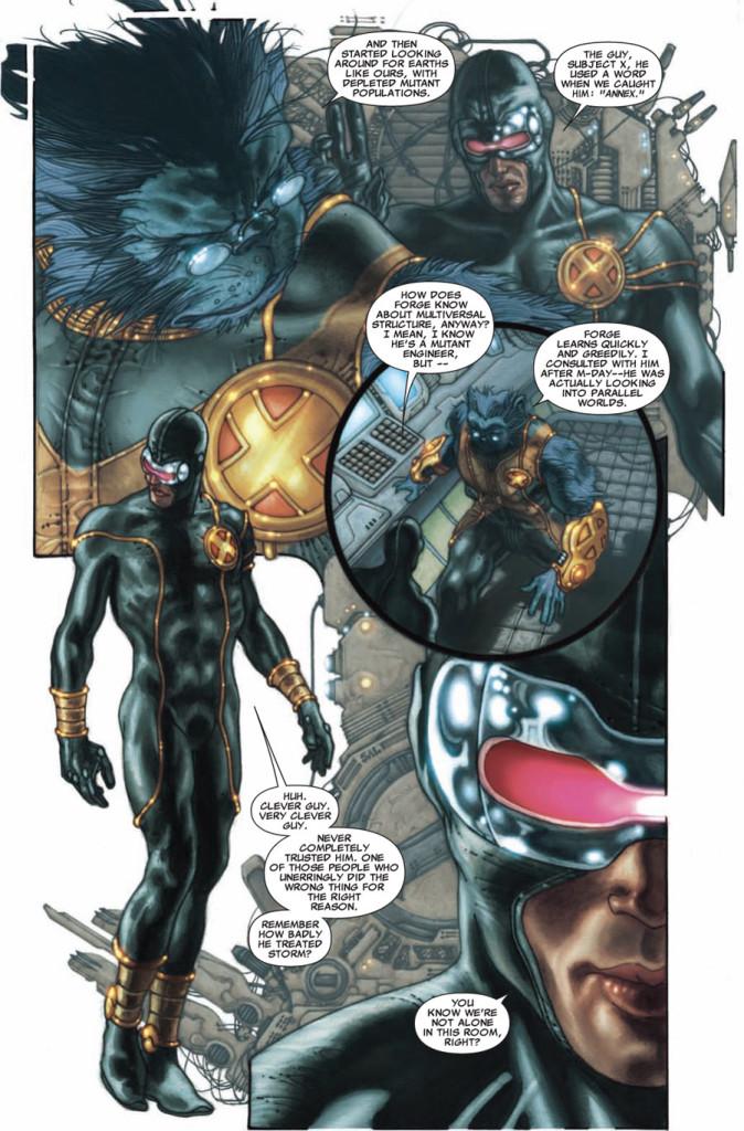 Des héros très inquiétants  ©Marvel Comics