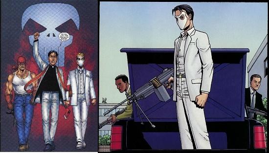 Tel père (à gauche), tel fils (à droite)… © Marvel Comics