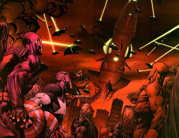 Des attaques qui arrivent de toutes parts ©Marvel comics