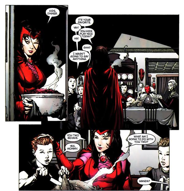 Dans quel monde tu vis, Wanda? ©Marvel comics