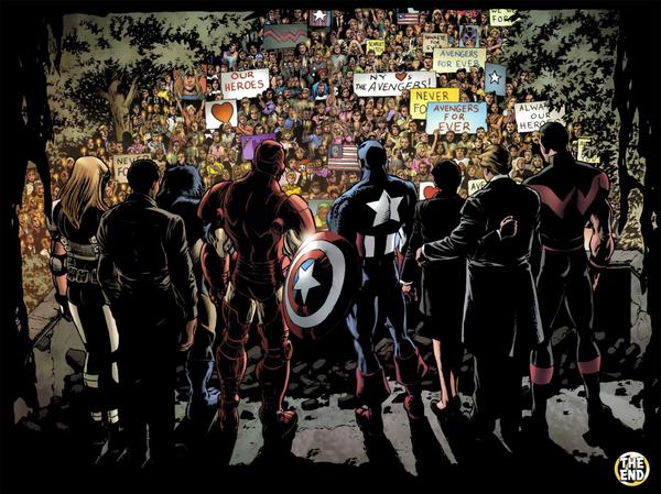 La fin d'une époque ©Marvel comics
