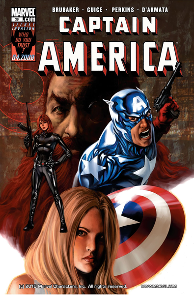 Un Captain America moderne ©Marvel comics