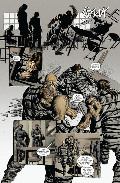 C'est l'enfer cette taule! ©Marvel comics