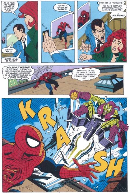 Quand l'art séquentiel cisèle le récit… © Marvel Comics