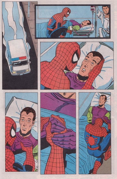 Quand le versant infantile gâte le récit… © Marvel Comics