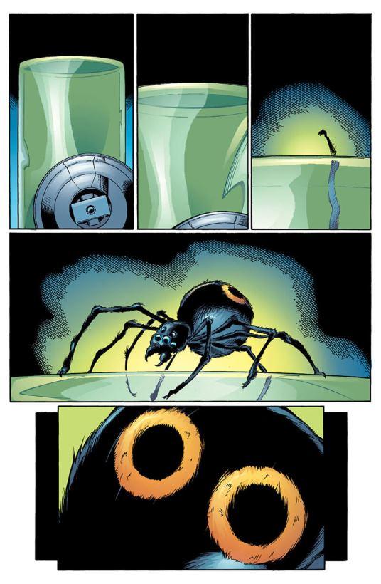 L'araignée radioactive par Mark Bagley  © Marvel Comics