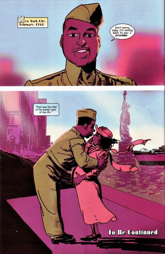 Afro-américain par Kyle Baker © Marvel Comicst