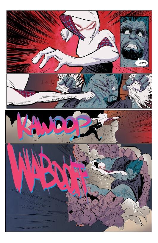 Spider-Gwen par Robbie Rodriguez © Marvel Comics