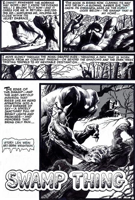 De la belle horreur vintage. © DC Comics