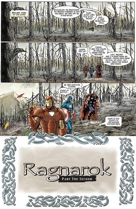 Ce n'est qu'un au-revoir mon cher Thor. Tu ressusciteras bientôt… © Marvel Comics