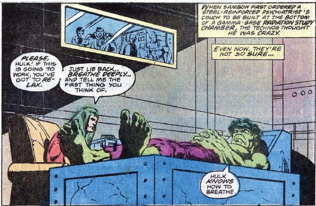 Même si j'écoute du punk, j'ai jamais eu les cheveux verts. ©