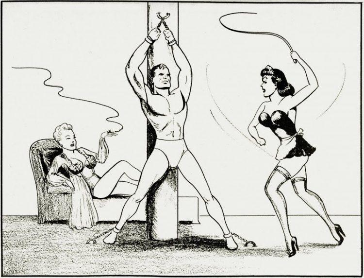 On n'est pas toujours aidé par les auteurs. Ces illus SM avec des personnages ressemblant à Lois et Clark sont bien de la main de Shuster. ©DC Comics