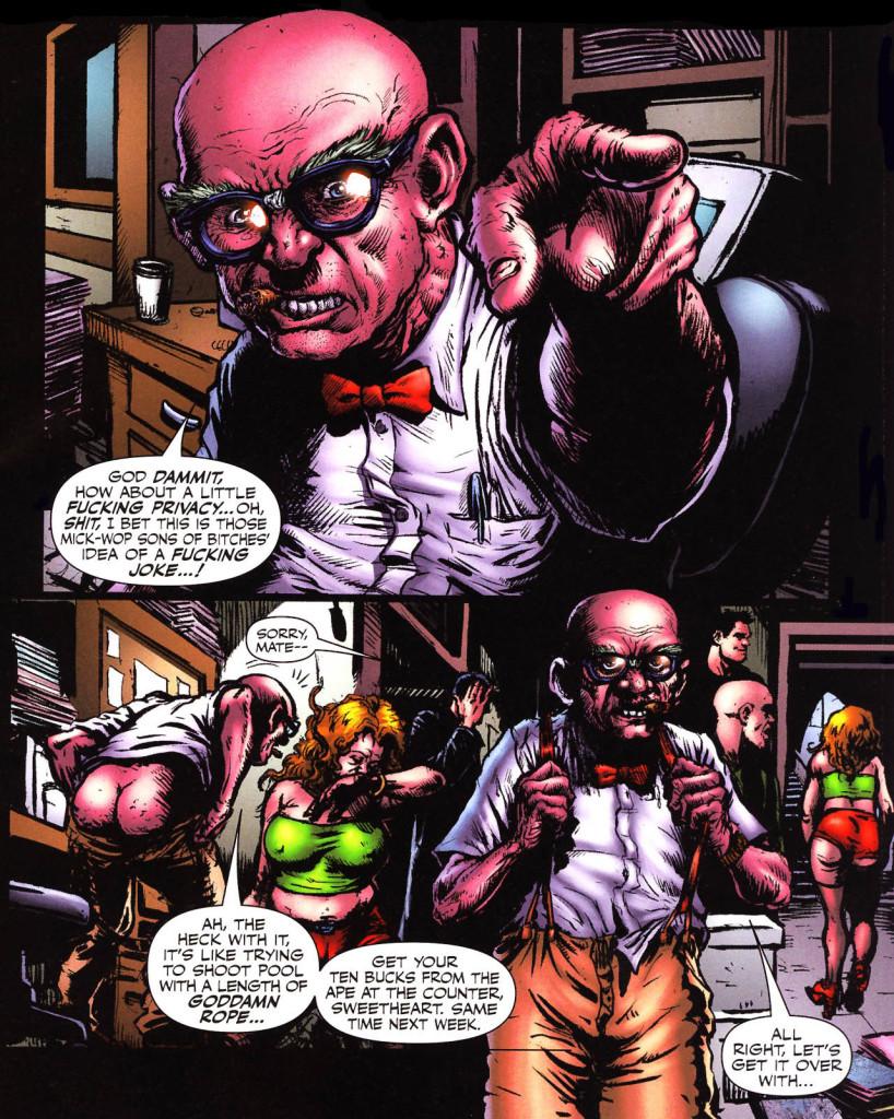 De toute façon, même les légendes des comics ont des besoins. ©