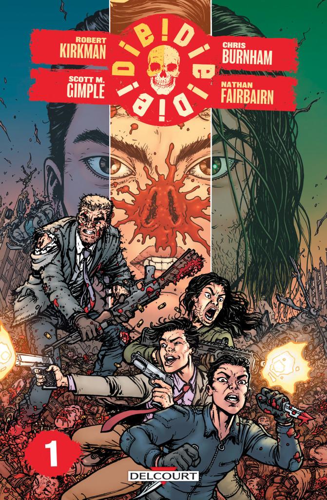 La nouvelle série de Kirkman sera publié par Delcourt le 22 janvier. ©Delcourt
