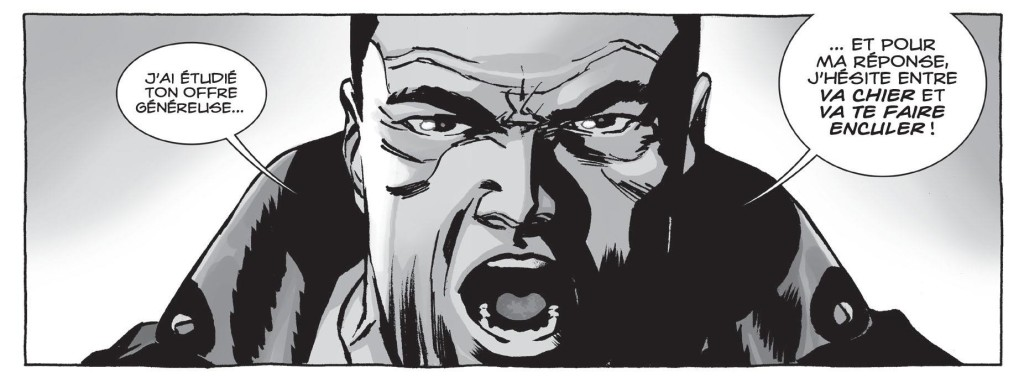 Un avis Monsieur Negan ?  ©Delcourt