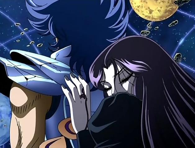 L'étrange relation entre Phénix et Pandore se termine sensuellement. Source Les ailes immortelles http://www.les-ailes-immortelles.net/forum/viewtopic.php?t=11972 ©Toei Animation ©Masami Kurumada ©Toei Animation ©AB VIdeo