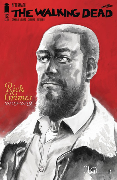 Rick Grimes is dead  ©Image Comics