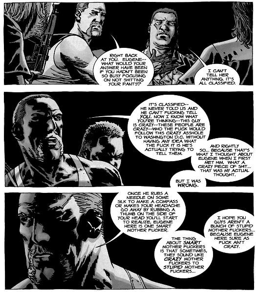 Une mise en scène des dialogues pas toujours visuellement passionnante ©Image Comics