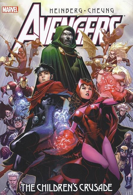 Alors, on dirait qu'en fait, la Sorcière rouge elle est gentille, parce que le méchant… © Marvel Comics