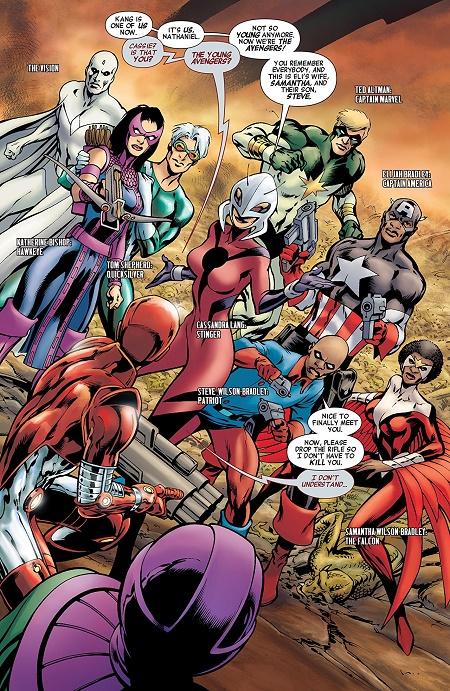 Y a même des noms pour s'y retrouver… © Marvel Comics