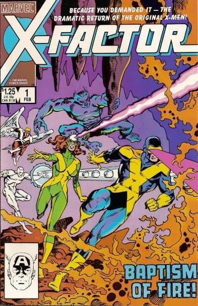 Les nouveaux anciens Xmen !  ©Marvel Comics